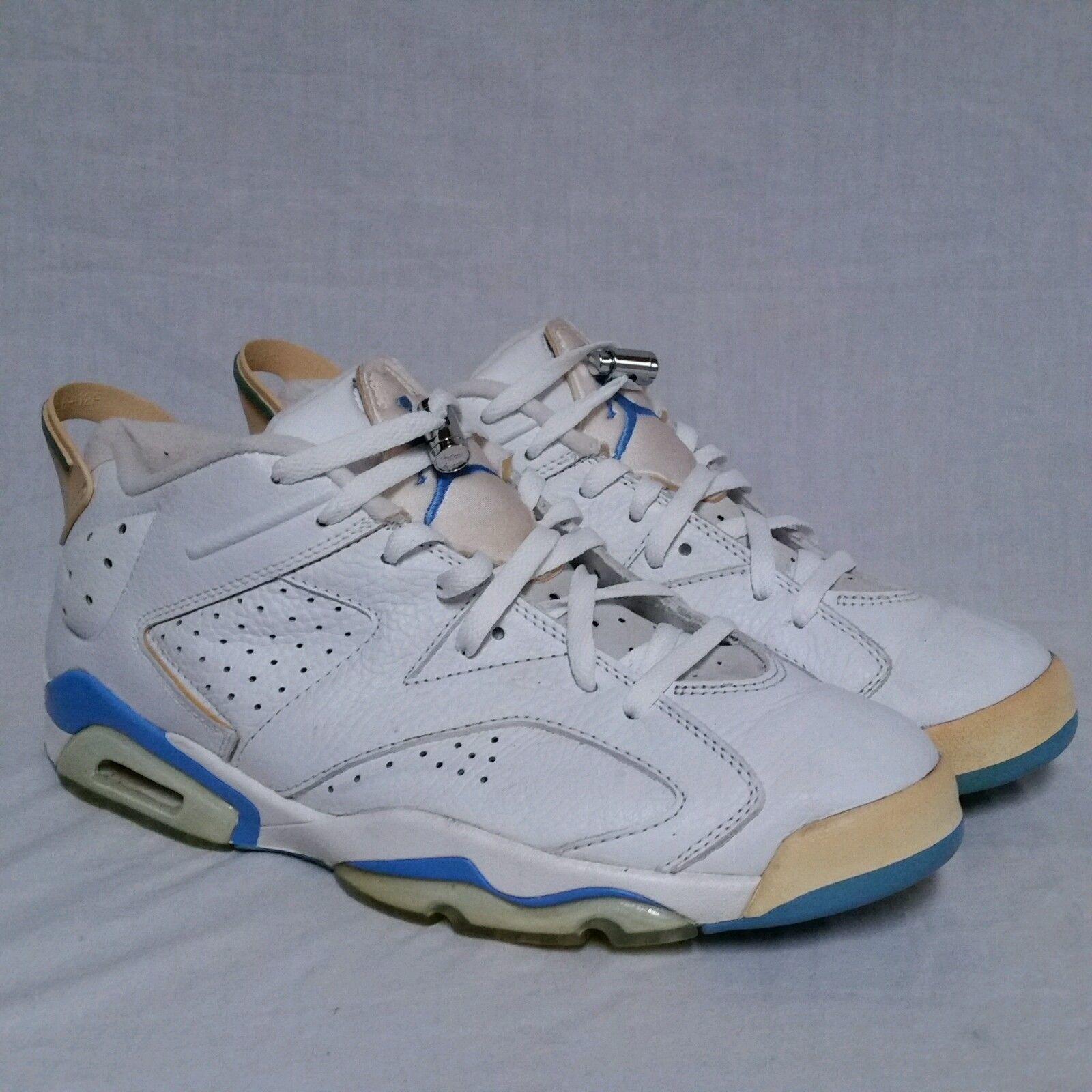 354d154429cf S l1600. S l1600. Previous. Nike Air Jordan Retro 6 vi Low Carolina UNC  University Infrared Chrome Mens 12