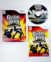 Guitar Hero: World Tour (Nintendo Wii 2008) Complete with Manual - Free ... - $11.35