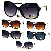 Pearl Jewel Luxury Womens Oversize Butterfly Diva Sunglasses - $12.95