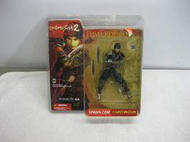Onimusha 2: Samurai's Destiny Fuma Kotaro McFarlane Toys 2002, NIP ** - $14.50