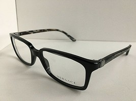 New Versace Mod. 7431 GB1 Black 53mm Eyeglasses Frame Italy #2 - $199.99