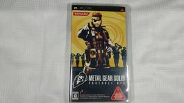Metal Gear Solid Portable OPS Konami PSP Sony Japanese - $12.87
