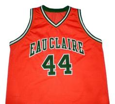 Jermaine O'Neal Eau Claire High School Basketball Jersey Sewn Orange Any Size image 1