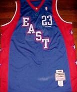Mitchell Ness Hardwood 2004 LeBron James 23 All Star East Swingman Jerse... - $69.28