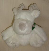 Bath & Body Works Plush White Moose Reindeer with Green Collar   - $9.89