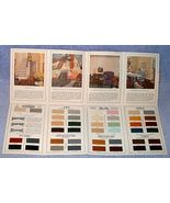 1924 Sherwin Williams Painting Guide with Color Chip Samples - $49.95