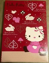 Vintage Sanrio Autumn Hello Kitty Clip Board Binder * - $14.01