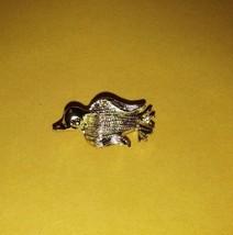 Vintage Nemo stamped/signed penguin?bird tack/stick/hat pin shiny gold tone - $12.99