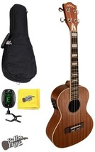 Lanikai LMU-T Tenor Acoustic Electric Ukulele with USB Connect, Gig Bag ... - $249.95