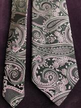 "Robert Talbott Mens Neck Tie Silk 58"" Best of Class Purple Black 3J2 - $59.84"