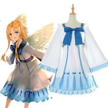 The Rising of the Shield Hero Filo Cosplay Dress Girl Lolita Blue Bow Sk... - $43.99