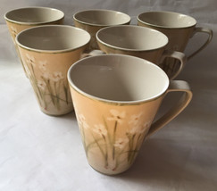 Cheri Blum 222 Fifth Dinnerware Narcissus Mugs Cups - 6 - $65.00