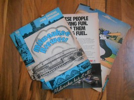 Old Vintage 1980 Official Program Milwaukee Brewers New York Yankees Bas... - $9.99