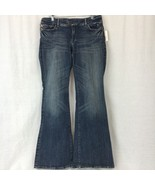 Parasuco Denim Cult Womens Jeans Boot Cut Cotton Stretch Distressed Size... - $43.55
