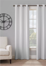 Blackout Window Panel 84L x 40W Light Gray Grommet Top Insulated Reduce Noise - $20.47