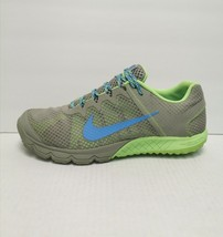 Nike Zoom WildHorse Women's Trail Gray /Blue /Neon Green Size 11 M [599121-063] - $59.39