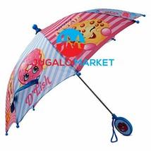 Shopkins Little Girl's Assorted Character Rainwear Umbrella Accessory, b... - $18.44