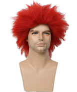 Pennywise Bright Red Wig Stephen King's It Movie Halloween Cosplay Horro... - $29.00