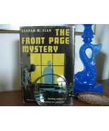 FRONT PAGE MYSTERY by GRAHAM DEAN BOYS MYSTERY HC/DJ Cool ILLUSTRATIONS! - $16.50