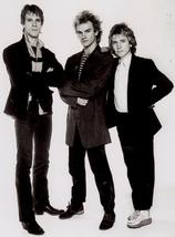 The Police V Sting Vintage 11X14 Matted BW Music Memorabilia Photo - $13.99
