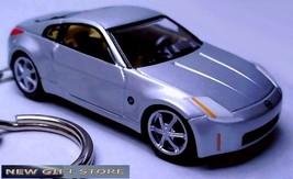 KEY CHAIN SILVER NISSAN 350Z Z33 Z CAR FAST & FURIOUS NEW CUSTOM LIMITED... - $49.98