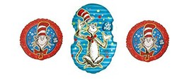 Dr. Seuss - The Cat in the Hat Balloon Bouquet - Three Mylar Balloons - $14.26