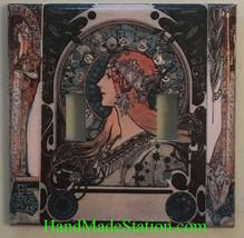 Art Nouveau Artists Light Switch Duplex Outlet Wall Cover Plate Home decor image 4