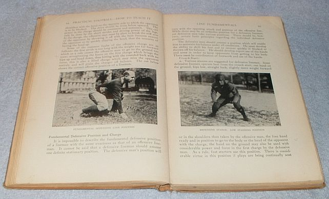 Practical Football and How to Teach it Vintage 1926 Lowman