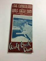 Vintage Lake Cumberland & Wolf Creek Dam Information Travel Guide - $17.77