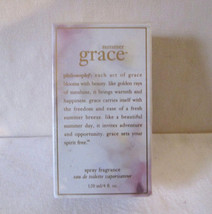 Philosophy SUMMER GRACE 4oz 120ml Spray  EDT NIB SEALED Pre Coty HTF - $95.00