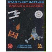 Star Fleet Battles Captain's Module D3 Booms & Saucers 1993 Task Force Games NEW - $7.84
