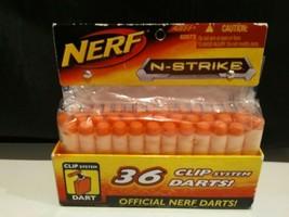 NIP Nerf N-Strike 36 Clip System Darts Official Hasbro 62573 New In Package    U - $5.94