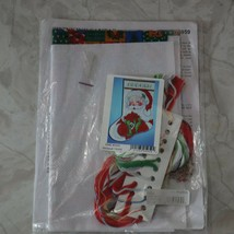 Design Works Winking Santa Cross Stitch Kit 5959 Holiday Christmas Complete Kit - $18.95