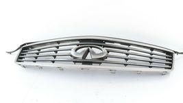 08-15 Infiniti Ex35 Ex37 Qx50 Front Bumper Upper Grille W/ Emblem W/O Camera  image 6