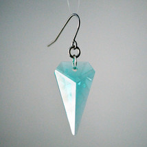 Crystal Sharkstooth Earrings image 1