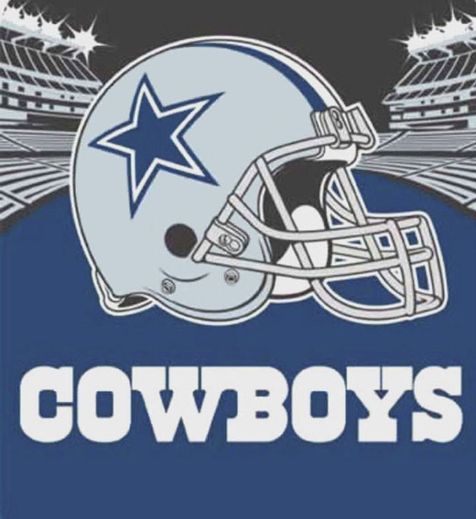 Dallas cowboys 3 cross stitch pattern