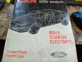 Ford Car 1987 Shop Manual Body Chassis Electrical Fps - 12102 - 87C - $14.84