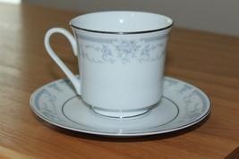 Vintage Sheffield Blue Whisper Porcelain Fine Cup & Saucer 1985 Made In ... - $13.10