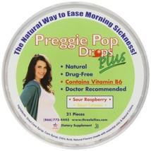 Three Lollies Preggie Pop Drops Plus | with Vitamin B6 for Morning Sickness Reli