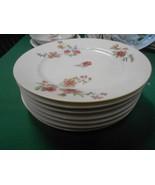 Beautiful CH.FIELD Haviland Limoges GDA France- 7 BREAD-SALAD Plates -Cl... - $41.29