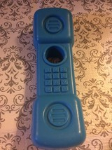 Fisher Price 1996 Blue Replacement Plastic Phone - $6.12