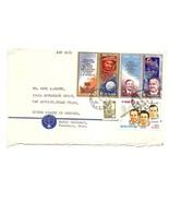 USSR - Cover Radio Tashkent UZBEK SSR to Texas US 1981 Space Stamps - $59,66 MXN
