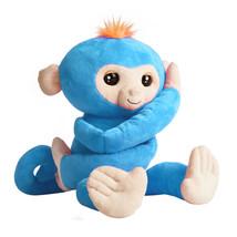 WowWee Fingerlings Hugs Boris Friendly Interactive Plush Monkey Child To... - $39.14
