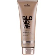 Schwarzkopf BlondMe Keratin Restore Blonding Shampoo 8.4oz  - $16.63