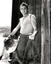 Gunsmoke Burt Reynolds Vintage 24X30 BW Western TV Memorabilia Photo - $41.95
