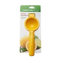 Farberware Fresh Lemon Squeezer Yellow Makes Pulp & Pit Free Juice NEW - $13.83