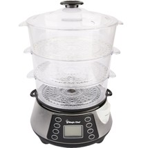 MagicChef Electric Food Steamer, 3 Tier - $68.66