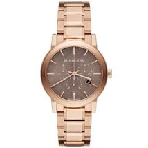 Burberry BU9754 The City Rose Gold-Tone Unisex Watch - $543.41