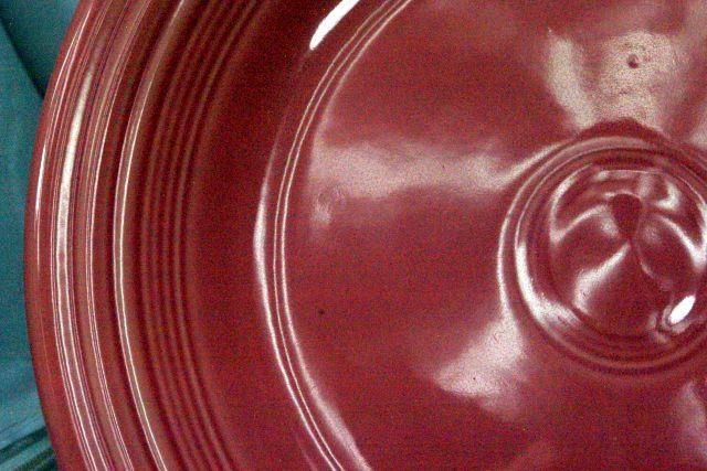 Homer Laughlin 2005  Fiesta Rose Soup Bowl image 3