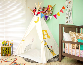 Kids Tent Teepee Gifts for Kids Boys Girls Toddler Toys Play Indoor Outd... - $59.99
